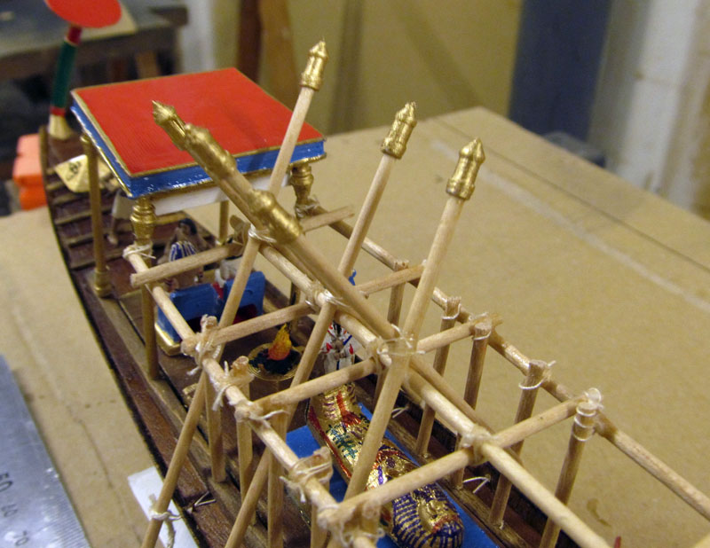 Barque pharaonique - 1/72 - Scratch et impression 3d 2018-159