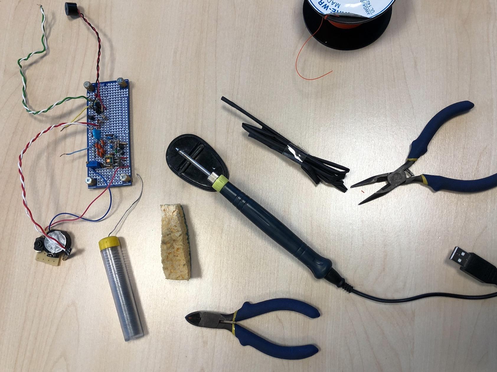 EDC Réparation électronique : Liste de matériel pour un repair café / pour un atelier post-cata Captu321