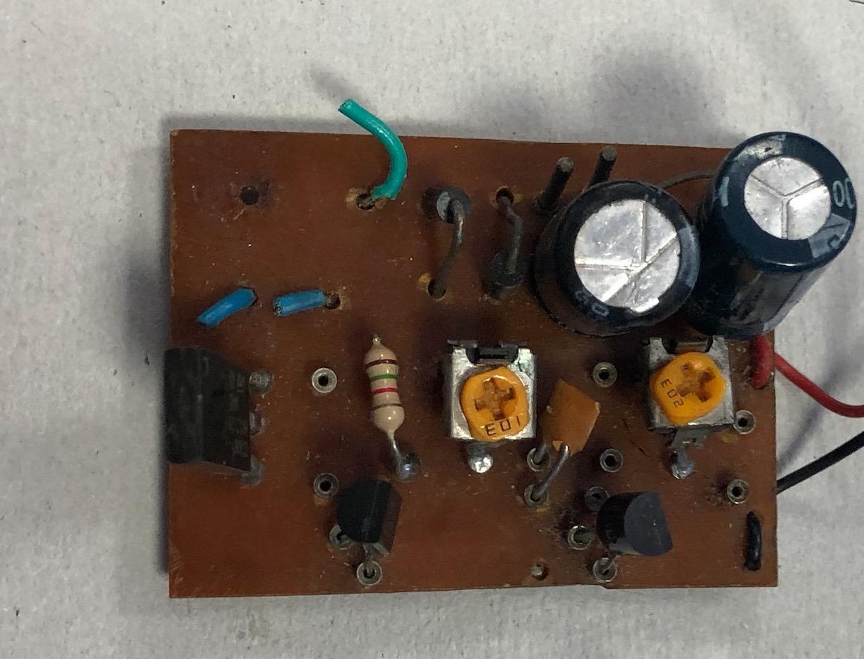 Compteur geiger à transistors de Sbeaugrand Captu514