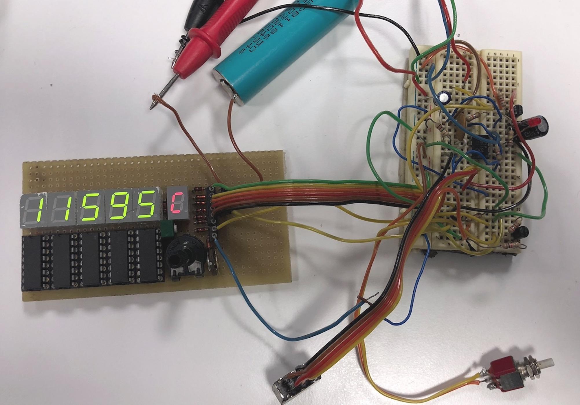 Un module pour votre Compteur Geiger : le compteur/dosimètre numérique (sans microcontrôleur & co) Captu601