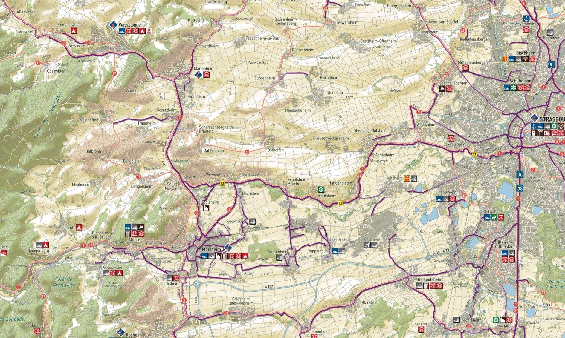 85km à Vélo : La Piste des Forts à Strasbourg Captur20