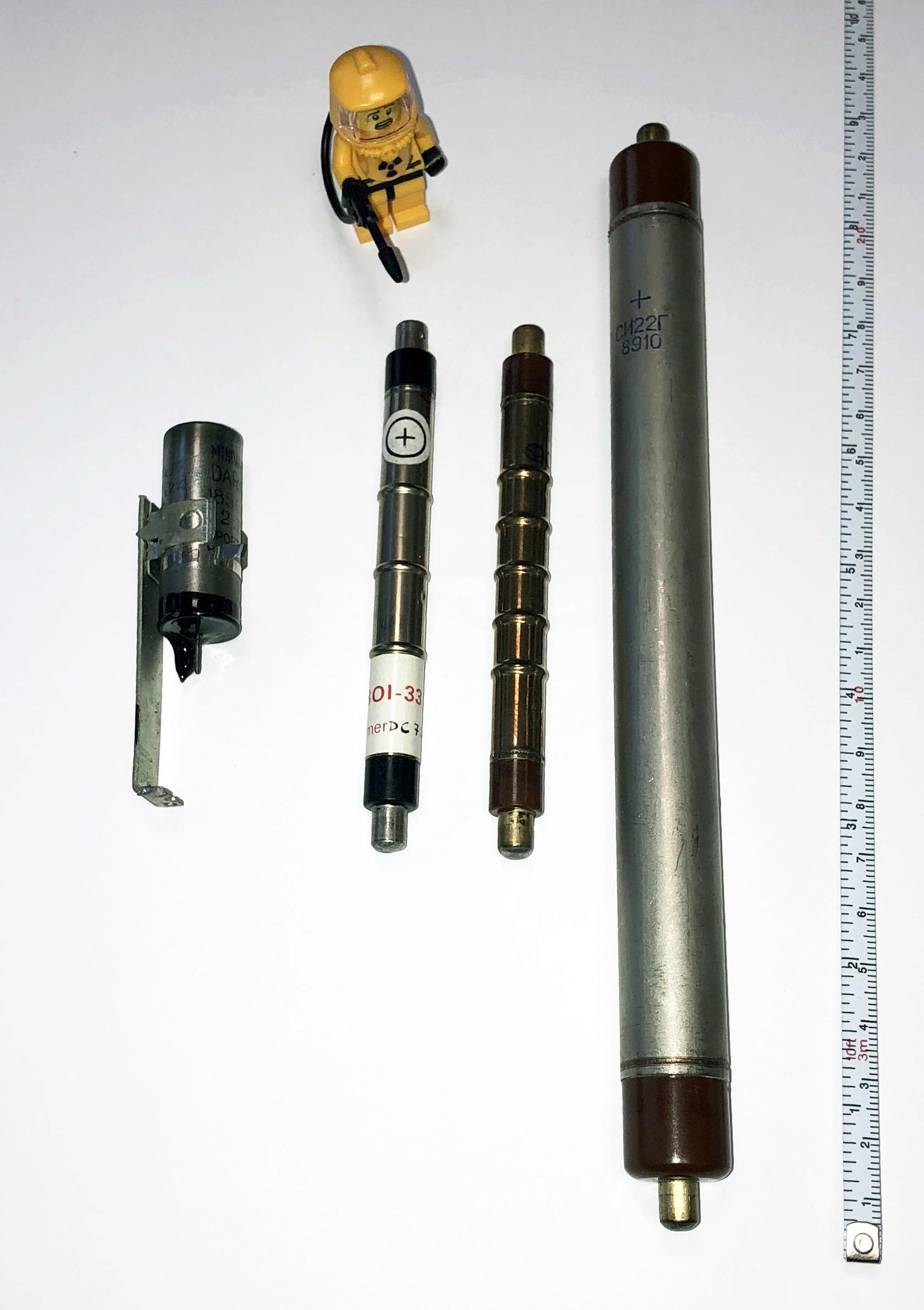 Tubes Geiger-Müller type SBM-20, STS-5 et BOI-33 Tubes11