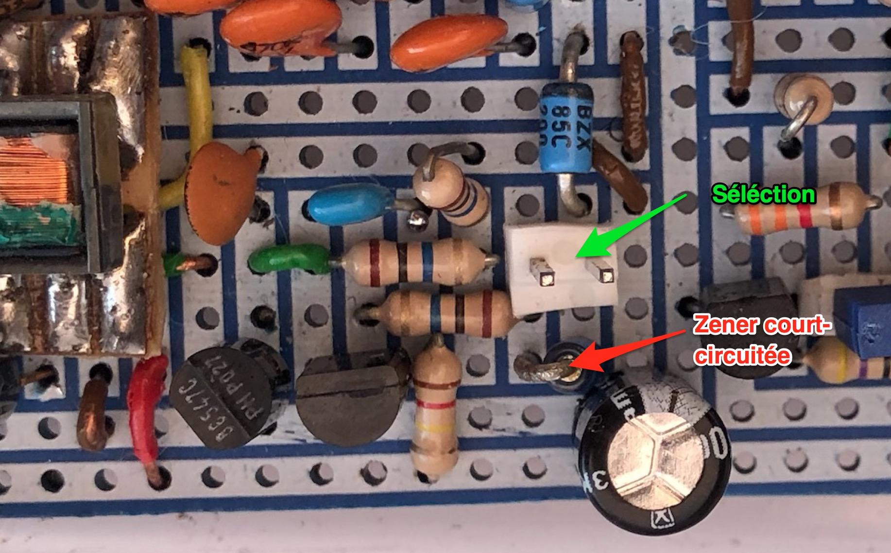 Un projet de compteur geiger à transistors - Page 2 Zener11