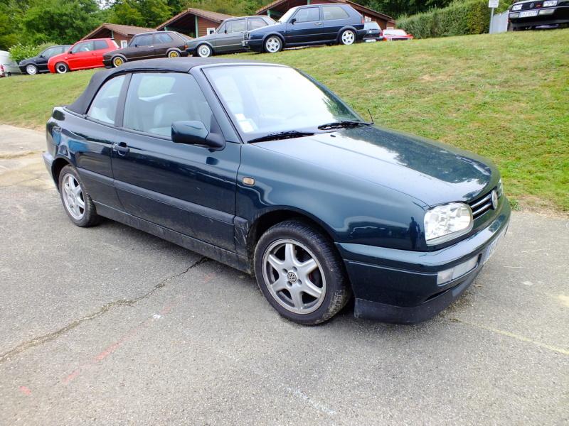 La Volkswagen  Golf cabriolet 07510