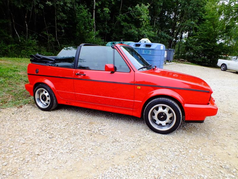 La Volkswagen  Golf cabriolet 15110