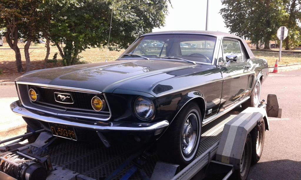 les Mustang rencontrés sur les routes  - Page 3 20200912