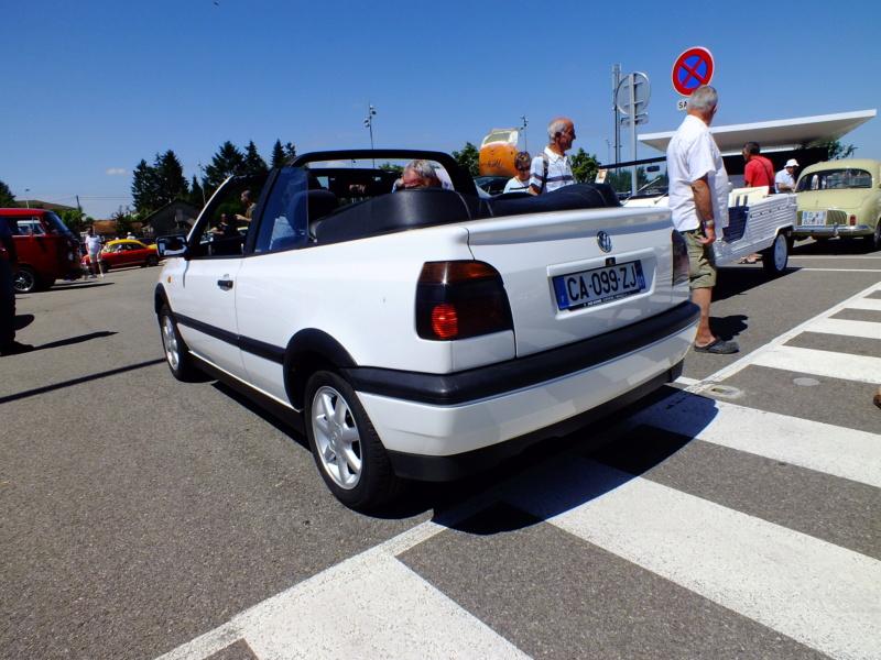 La Volkswagen  Golf cabriolet Dscf4113