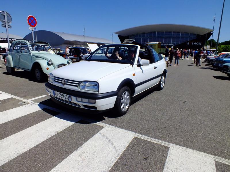 La Volkswagen  Golf cabriolet Dscf4114