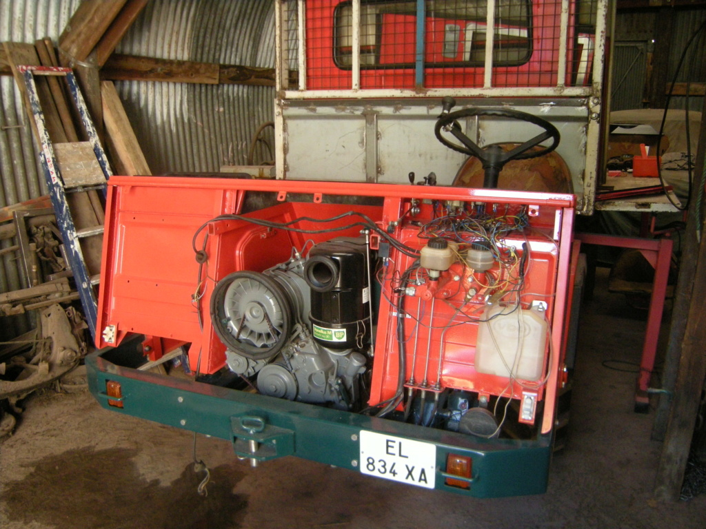 la Marque REFORM - Tracteur routier et materiel agricole  Dscn0123