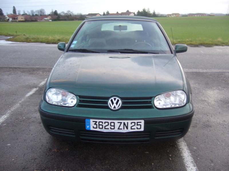 La Volkswagen  Golf cabriolet P1050110