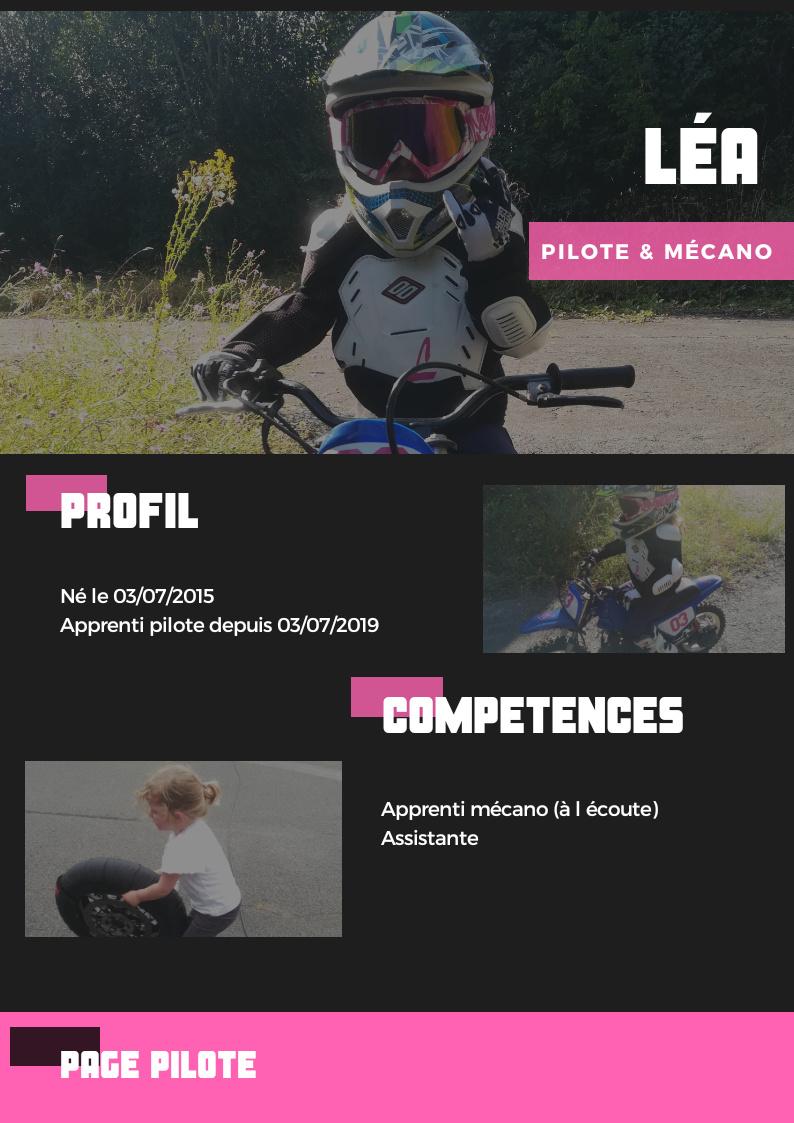 Initiation de la moto aux enfants 20200111