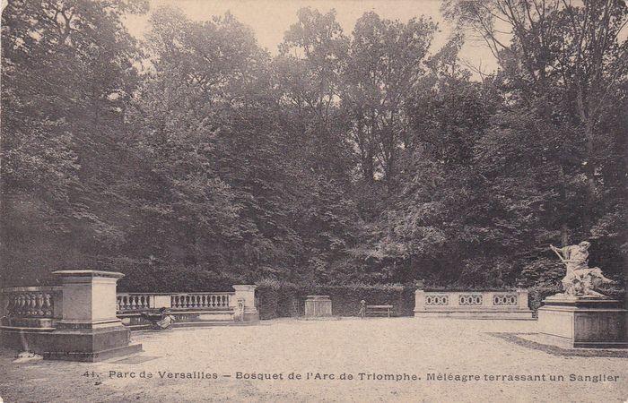 Le bosquet de l'Arc de Triomphe 12124110