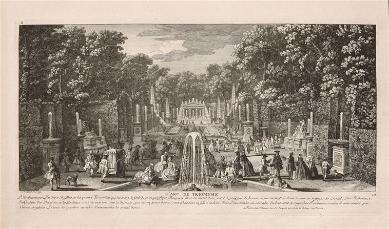 Le bosquet de l'Arc de Triomphe 12819710