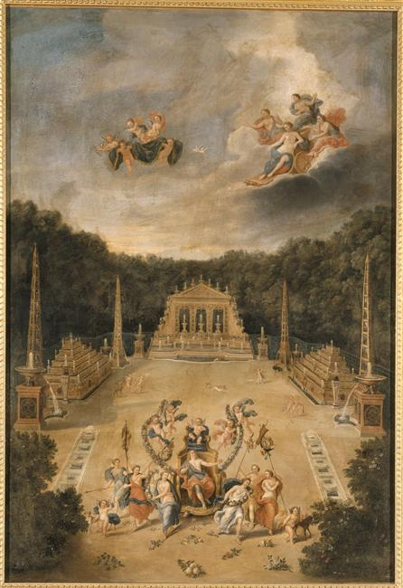 Le bosquet de l'Arc de Triomphe 19570110