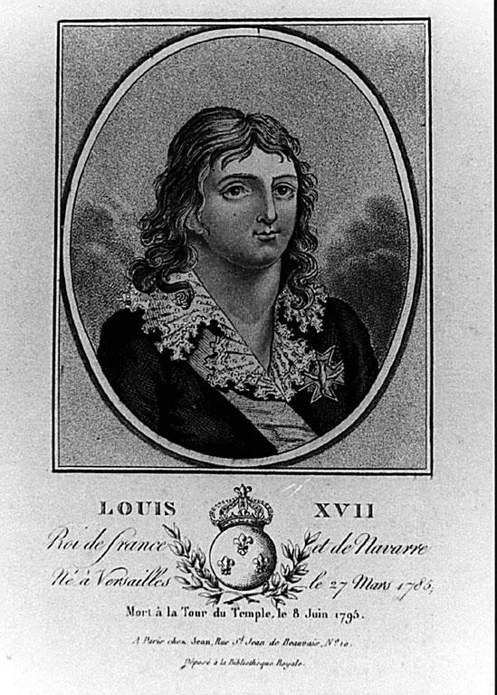 Portraits et illustrations de Louis XVII, roi de France (1793-1795) - Page 2 441610