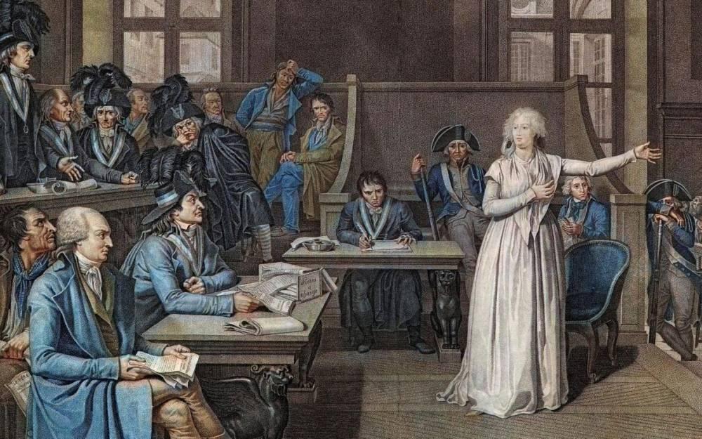 Le palais de Justice de L'île de la Cité, Paris, et la salle du Tribunal révolutionnaire 62138410