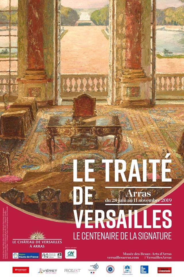 """Exposition """"Le traité de Versailles"""", Musée des Beaux-Arts d'Arras 65082810"""