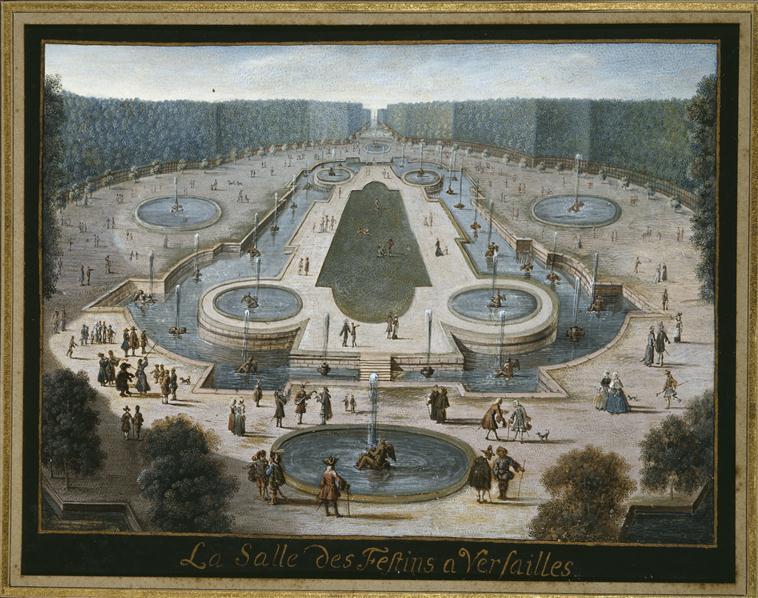 Le bosquet de l'Obélisque 91-00110