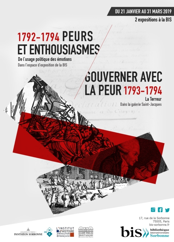 Gouverner avec la peur : la Terreur, l'exposition à la Galerie Soufflot Affich11