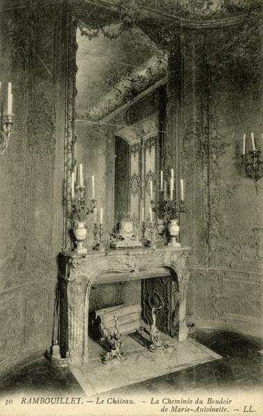 Rambouillet - Le boudoir de Marie-Antoinette à Rambouillet Bb10