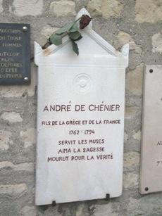 Le Poète André Chenier Chenie10