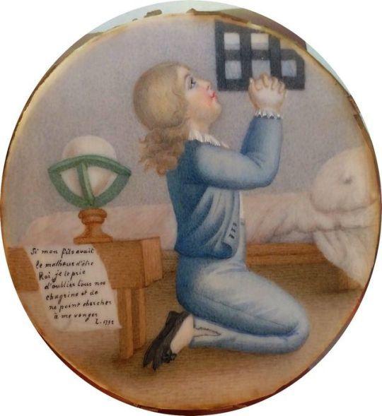 Les portraits de Louis XVII, prisonnier au Temple - Page 4 D1b80e10