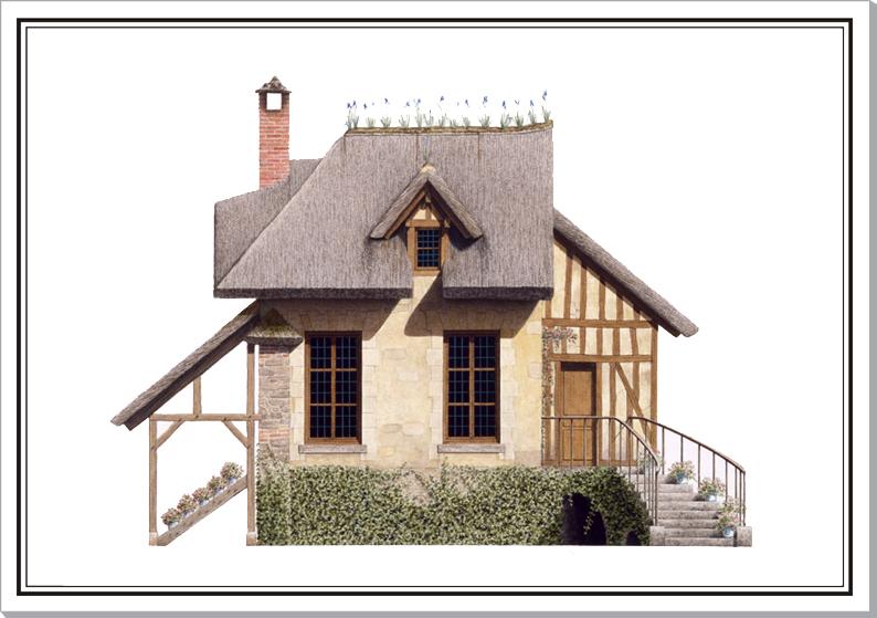 boudoir - Le Boudoir du Hameau du Petit Trianon - Page 2 Hameau11