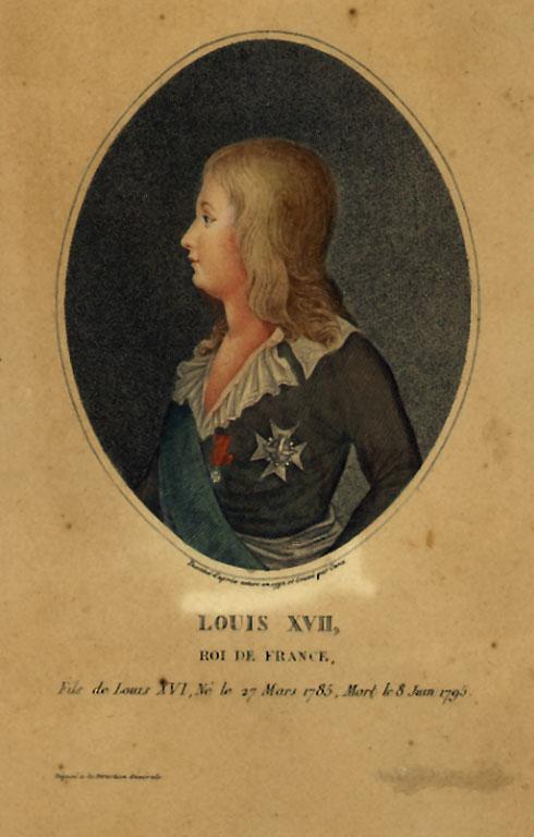 Portraits et illustrations de Louis XVII, roi de France (1793-1795) - Page 2 Hmn710