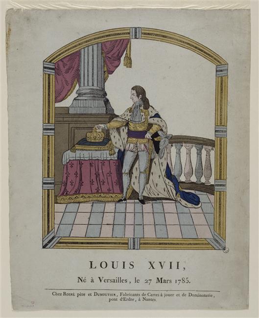 Portraits et illustrations de Louis XVII, roi de France (1793-1795) - Page 2 L10