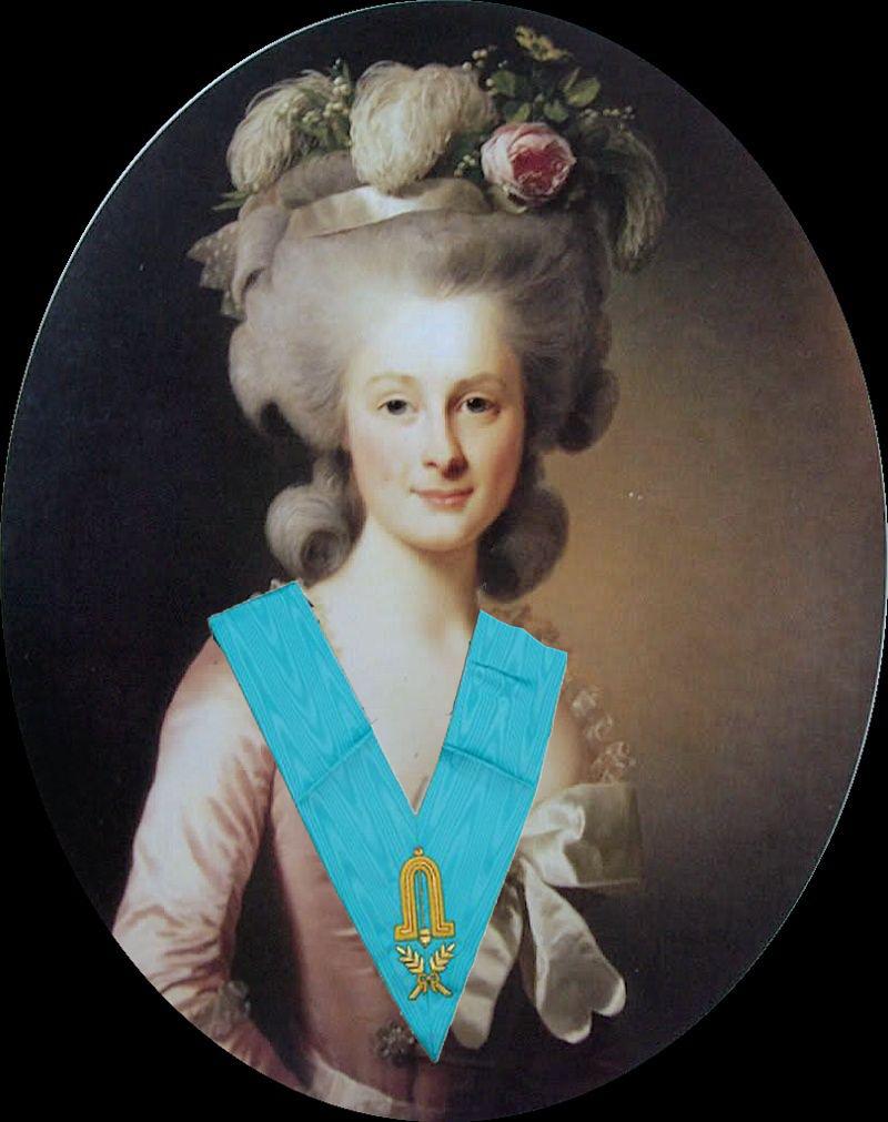 La Princesse de Lamballe et la franc-maçonnerie Lambal10