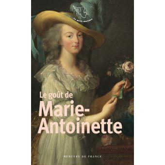Le goût de Marie-Antoinette, Mercure de France Le-gou10