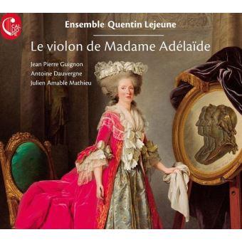 Marie-Adélaïde de France, dite Madame Adélaïde Le-vio10