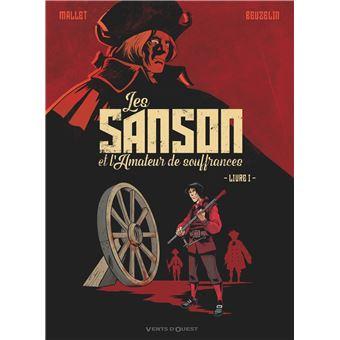 Bandes dessinées : Les Sanson et l'amateur de souffrances Les-sa10