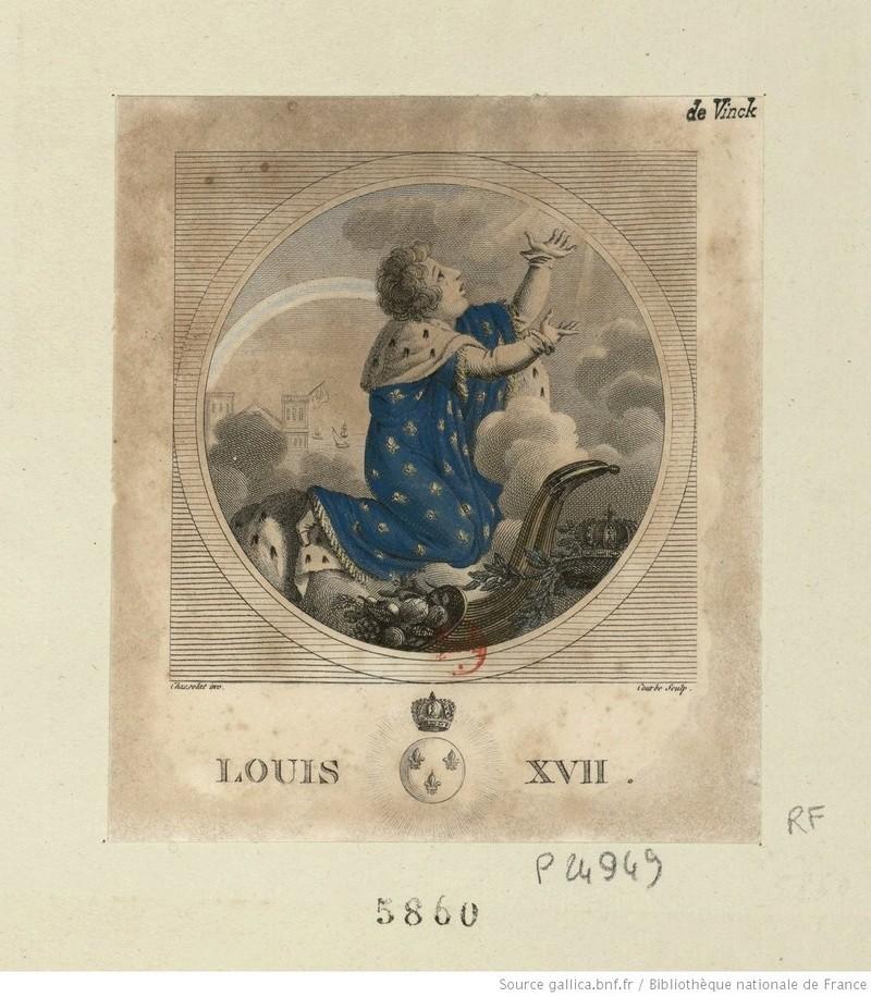 Portraits et illustrations de Louis XVII, roi de France (1793-1795) - Page 2 Louis_18