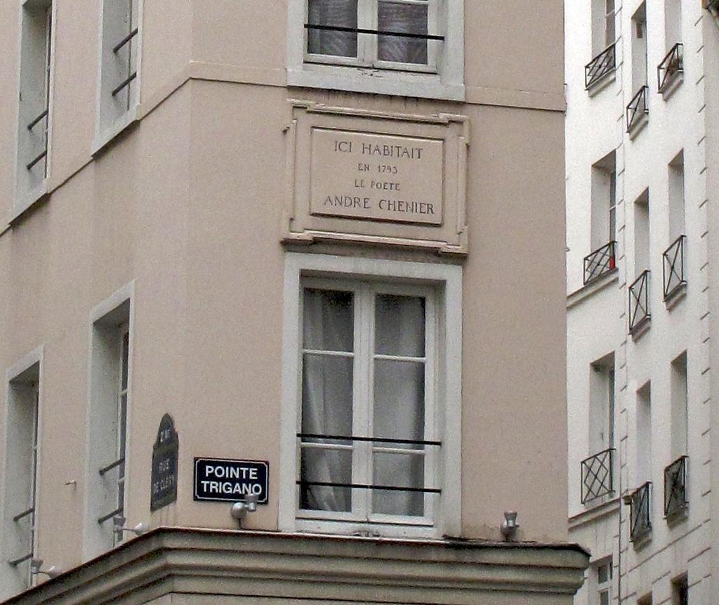 Le Poète André Chenier Maison12