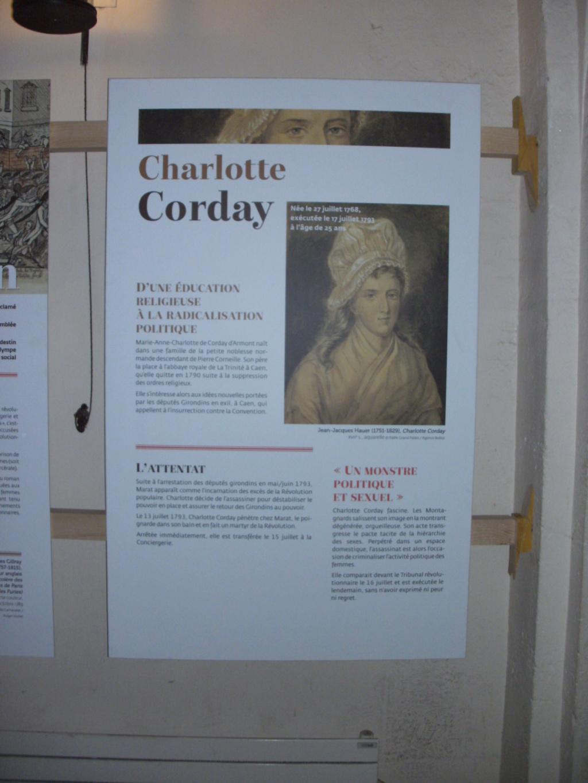 Exposition à la Conciergerie : Femmes en Révolution Pict4711