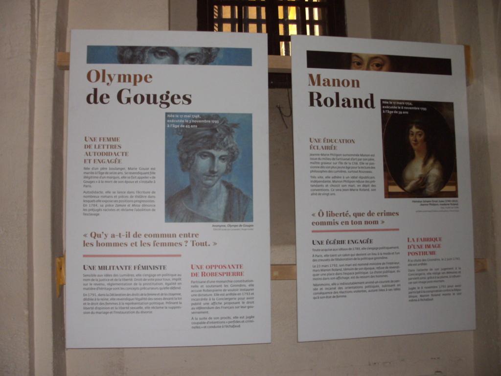 Exposition à la Conciergerie : Femmes en Révolution Pict4712