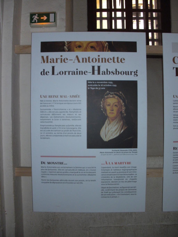 Exposition à la Conciergerie : Femmes en Révolution Pict4713