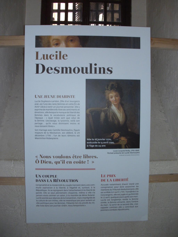 Exposition à la Conciergerie : Femmes en Révolution Pict4715