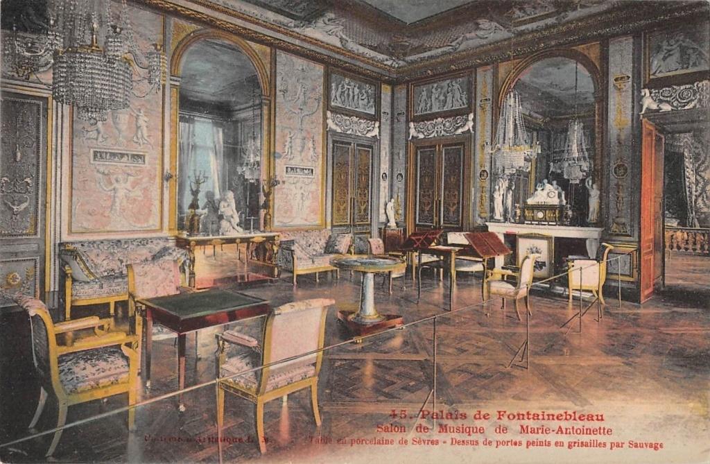 Le salon de musique de Marie-Antoinette à Fontainebleau S-l16028