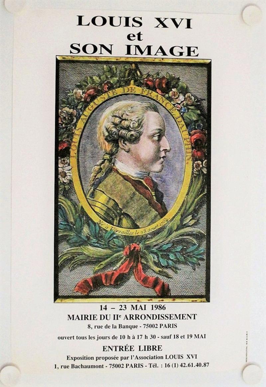 """Exposition """"Louis XVI et son image"""" S-l16036"""