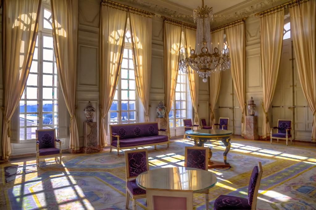 Le Grand Trianon: le salon des jardins Salon_10