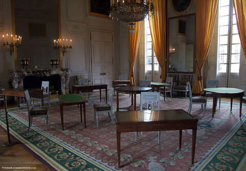 Le Grand Trianon: le salon de famille de l'Empereur