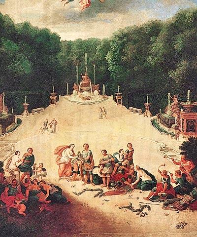 Le bosquet de l'Arc de Triomphe Tribas10