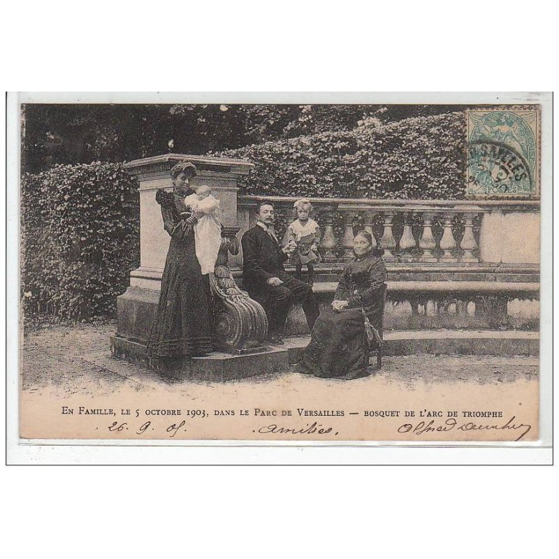 Le bosquet de l'Arc de Triomphe Versai12