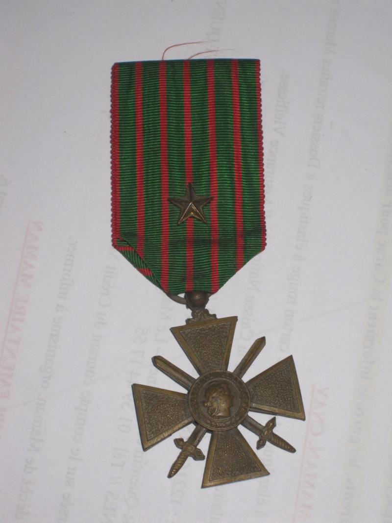 MEDAILLE CROIX DE GUERRE 1914/1918 Img_0074