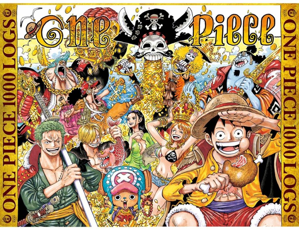 Feier zum 1000. Kapitel One Piece Cover10
