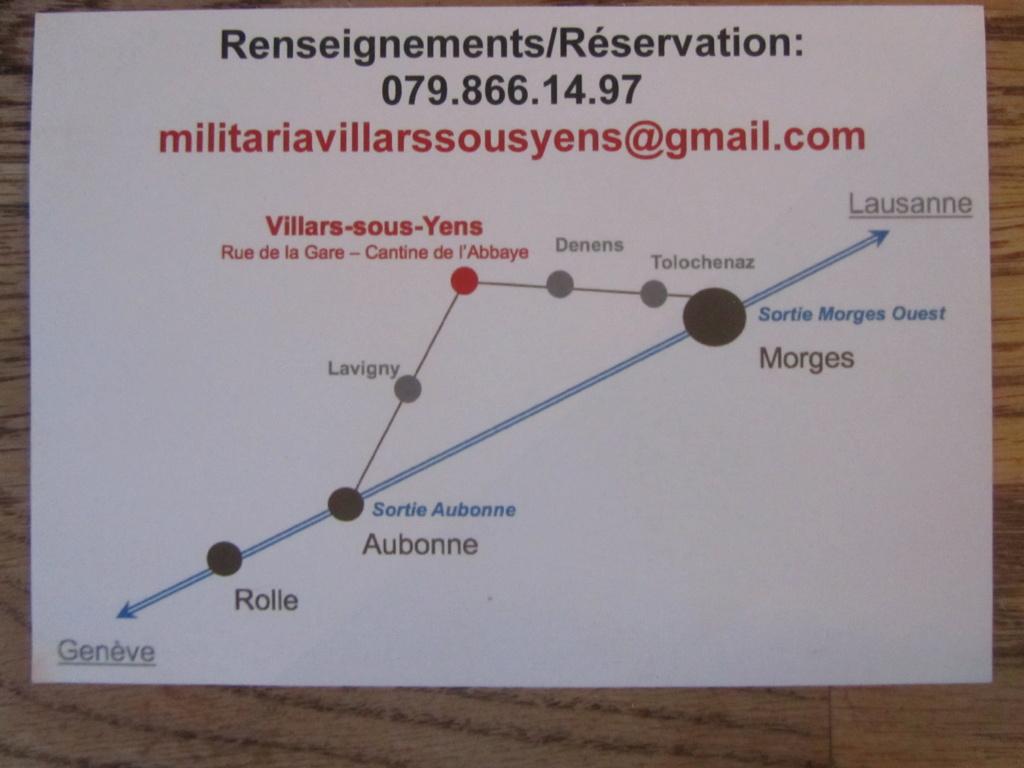 bourse militaria de Villars-sous-Yens / Suisse ANNULE Img_5114