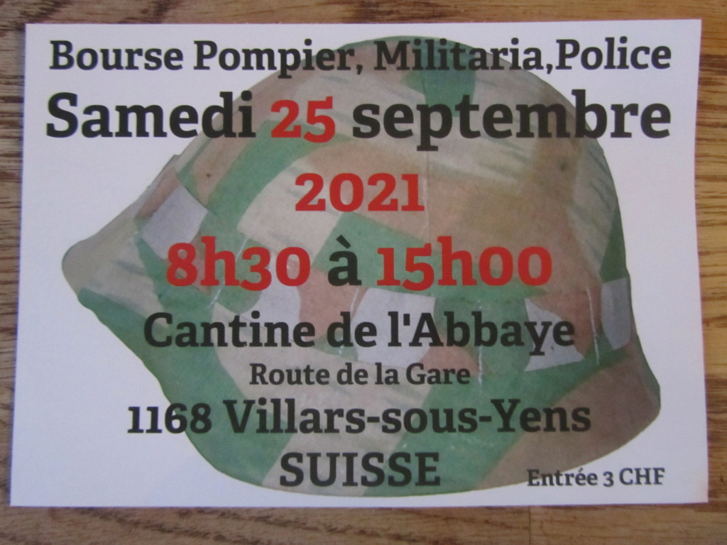 bourse militaria de Villars-sous-Yens / Suisse ANNULE Img_5115