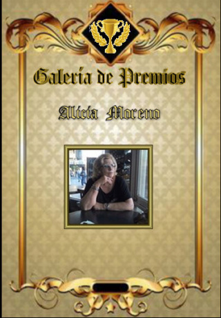 Premios de Alicia Moreno Alicia11